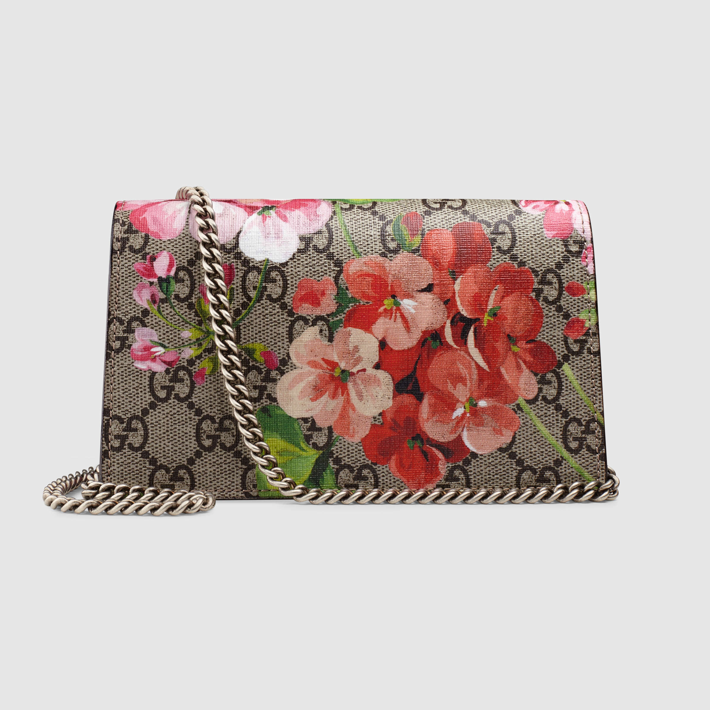 【グッチ】Dionysus Gg Blooms Super Mini Bag ショルダー