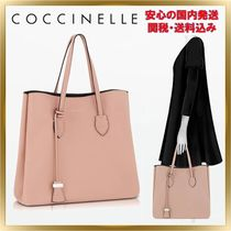 COCCINELLE(コチネレ) トートバッグ ◇COCCINELLE ◇ Celene Leather Tote Bag 【関税送料込】