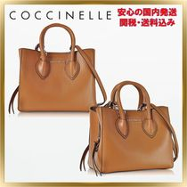 COCCINELLE(コチネレ) トートバッグ ◇COCCINELLE ◇ Farisa Pebbled Mini Tote Bag 【関税送料込】