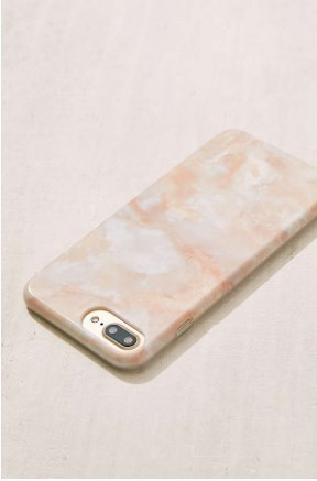 【関税・送料込】Rose Marble iPhone 8/7/6/6s Plus Case