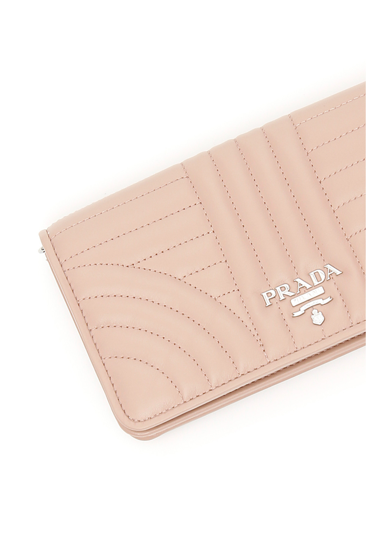 PRADA プレゼントにも! Diagramme Leather Iphone Case