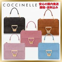COCCINELLE(コチネレ) ショルダーバッグ・ポシェット ◇ COCCINELLE ◇ Suede Arlettis Mini Bag  【関税送料込】