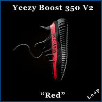 "【adidas】激レア Kanye West  Yeezy Boost 350 V2 ""Red"""