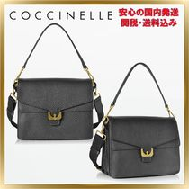 COCCINELLE(コチネレ) ショルダーバッグ・ポシェット ◇ COCCINELLE ◇ Ambrine Small Satchel Bag  【関税送料込】