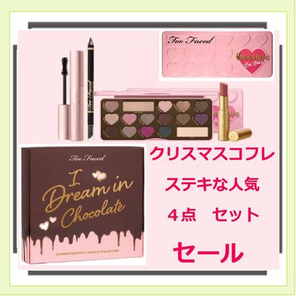 SALE クリスマス【Too Faced】お買い得4点I DREAM IN CHOCOLATE