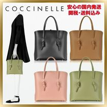 COCCINELLE(コチネレ) トートバッグ ◇COCCINELLE ◇ Matilde Leather Medium Tote 【関税送料込】