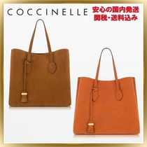 COCCINELLE(コチネレ) トートバッグ ◇COCCINELLE ◇ Celene Suede Tote Bag 【関税送料込】