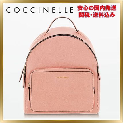 COCCINELLE バックパック・リュック ◇ COCCINELLE ◇ Clementine Leather Backpack 【関税送料込】