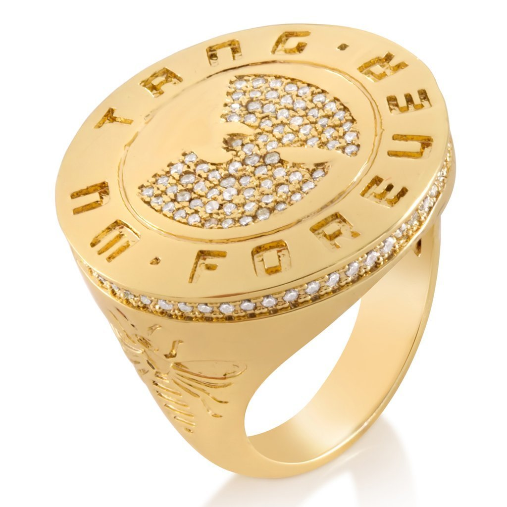 LA発ストリート★King Ice★ The Forever Medallion Ring