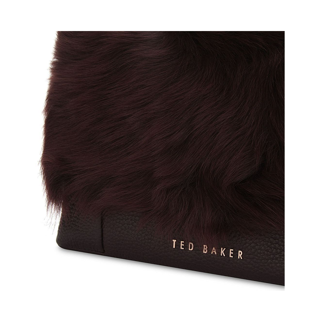 TED BAKER Fuzzi シアリング♪斜め掛けバッグ【関税・送料込み】