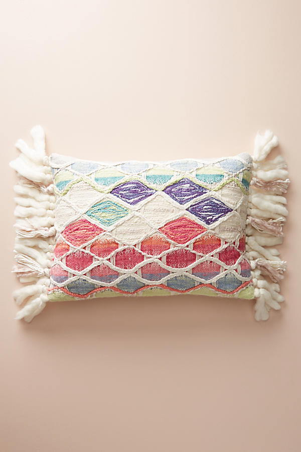 ANTHROPOLOGIE☆Weave & Wander Pillow☆税関送料込