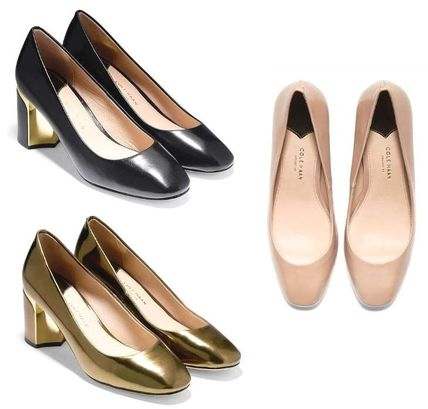 <SALE>3色 COLE HAAN Collection Block Heel Pump (65mm)