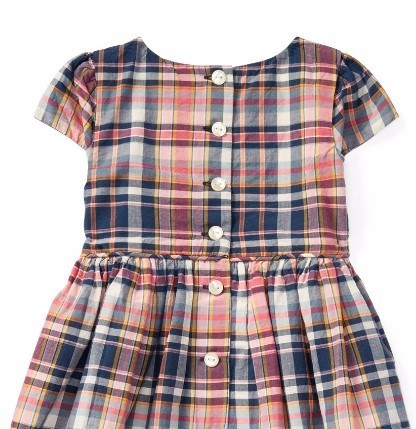 新作♪ 国内発送 Plaid Cotton Dress & Bloomer girls 0~24M