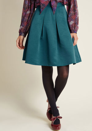 ◎送料込み◎ ethereal expression pleated skirt in teal