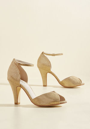 ◎送料込み◎ chelsea crew fine dining metallic heel in gold