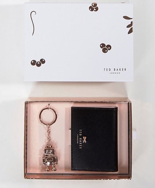 Ted Baker クレジットカード&ロボット キーリングセット