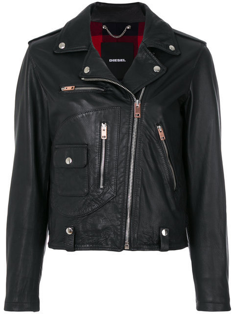 DIESEL L-Morgan biker jacket ジャケット