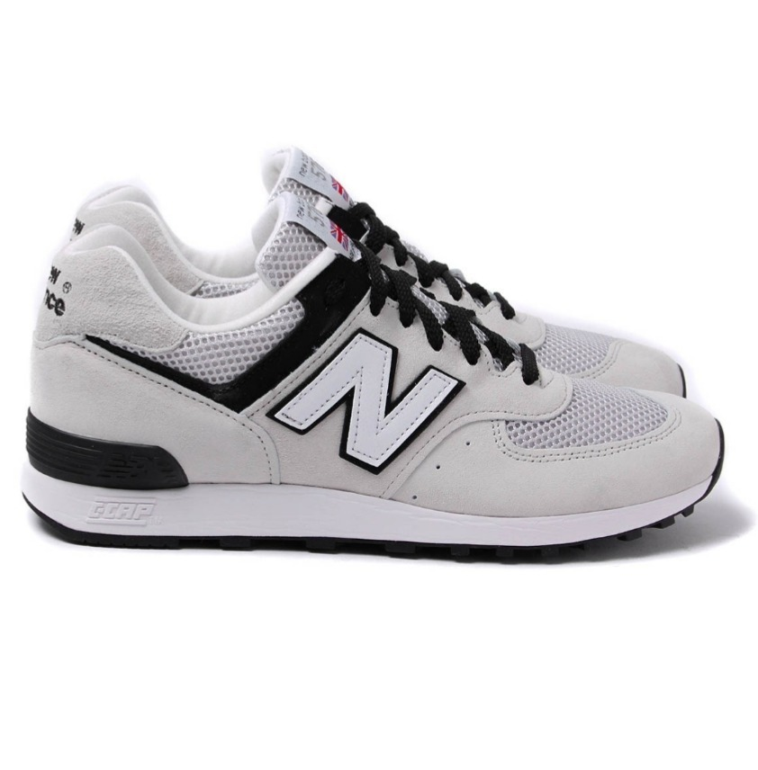 New Balance 576 MADE IN ENGLAND GREY SUEDE TRAINERS ★