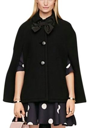 $678 Kate Spade BOW CAPELET xs ケープ セール中