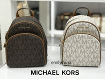 Michael Kors★12月新作★ABBEY XS BACKPACK ロゴ*3way利用OK!