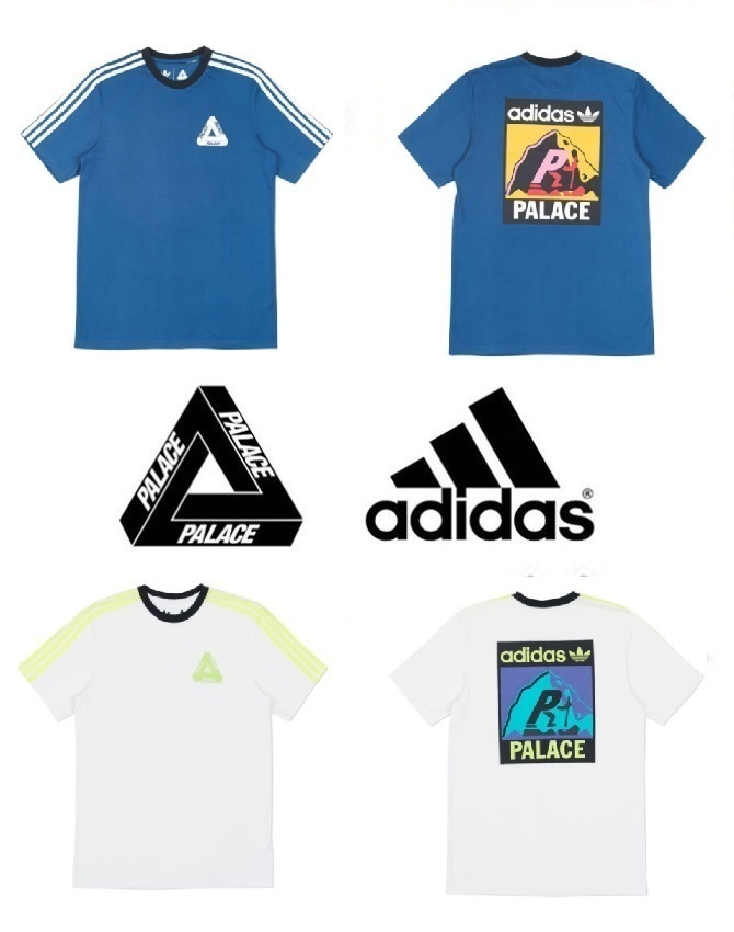 最新作!!【Palace Skateboards x Adidas】TEE SHIRT