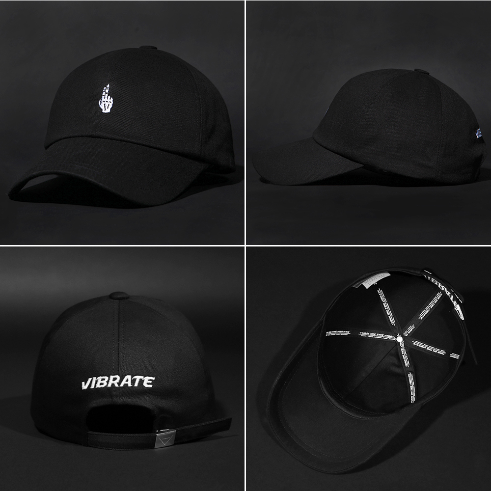 【VIBRATE】FINGER ボールキャップ(6 color) - UNISEX