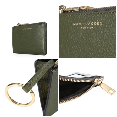 人気☆MARC JACOBS SLGS_TOP ZIP MULTI WALLET コインケース