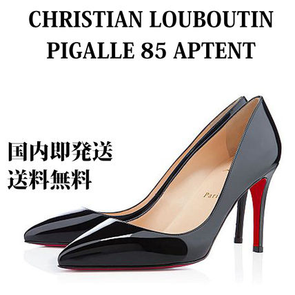 Christian Louboutin パンプス 【即発】【国内発送】PIGALLE 85 PATENT 人気モデル 美脚に!!