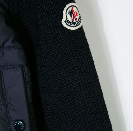 MONCLER キッズアウター 【確保済/即納】MONCLER Kids 異素材ダウンニットフーディ 4~6歳(3)
