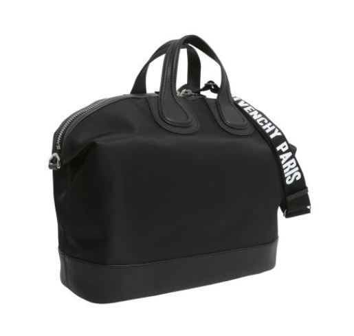 【GIVENCHY】NIGHTINGALE DUFFLE BAG WITH LOGO PRINTED STRAP