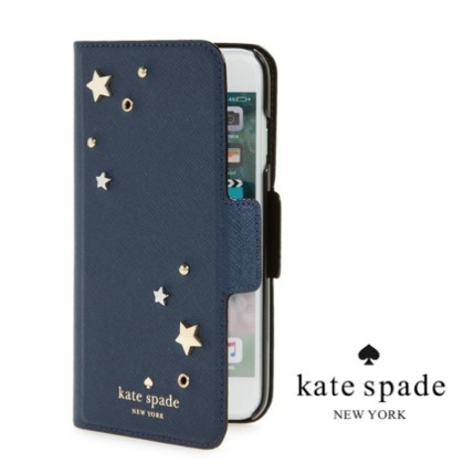 人気☆Kate spade new york☆ iphone 7/8 plus ケース 手帳型