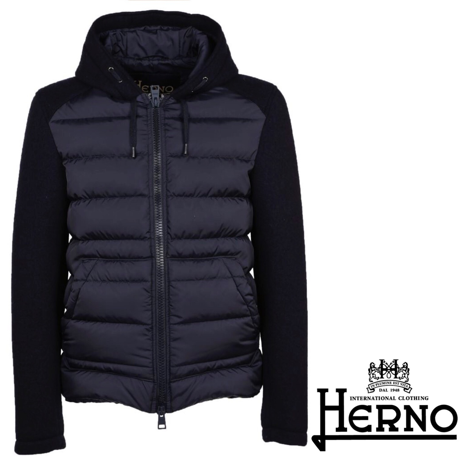 HERNO Padded Front Jacket 関税送料込