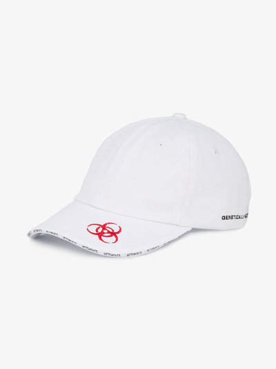 Genetically Modified embroidered cap(送料・関税込)必見