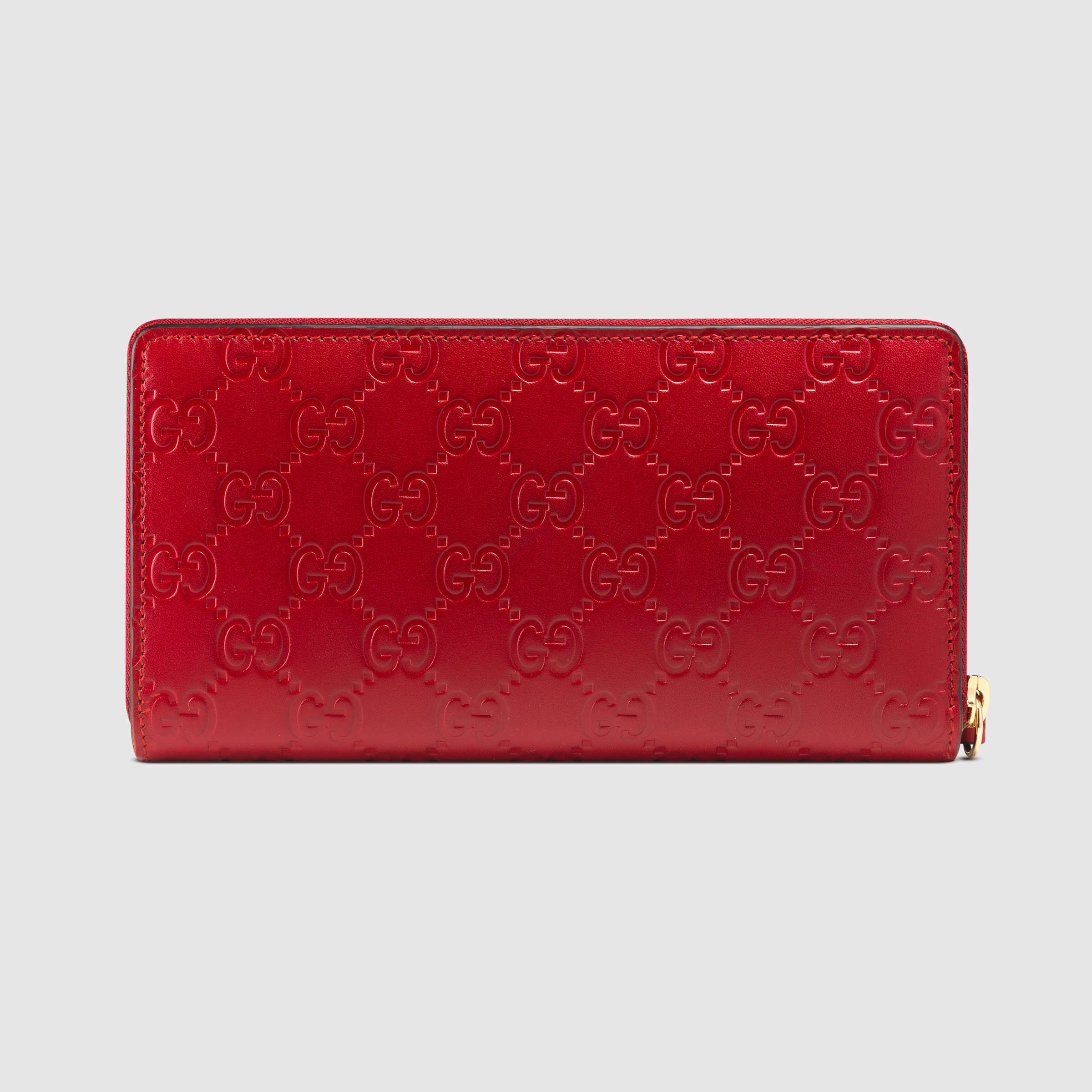 【グッチ】Gucci Signature Zip Around Wallet 長財布