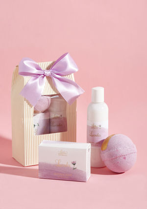 ◎送料込み◎ exquisite aroma toiletry set in lavender