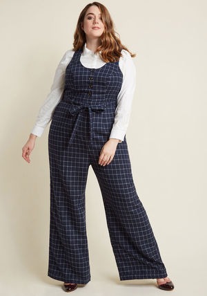 ◎送料込み◎ buttoned tailored wide-leg jumpsuit