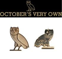 *OCTOBERS VERY OWN*14Kゴールドピン CLASSIC OWL PIN