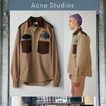 【17AW NEW】 Acne Studios_men/Seattle beige / brown/シャツBE