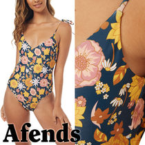 AFENDS(アフェンズ) ワンピース水着 AFENDS【アフェンズ】Electra 花柄ワンピース水着