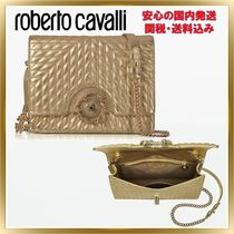 ◇ ROBERTO CAVALLI ◇ Star Quilted Leather  【関税送料込】