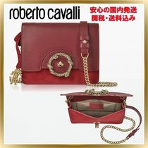 ◇ ROBERTO CAVALLI ◇ Suede Small Shoulder Bag【関税送料込】