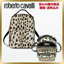 ◇ ROBERTO CAVALLI  Animal Printed leather Small 関税送料込