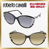 ◇ ROBERTO CAVALLI◇STEROPE 972S Acetate Crystals 関税送料込