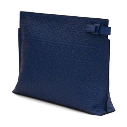 LOEWE★ロエベ T Pouch Repeat Navy Blue