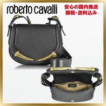 ◇ROBERTO CAVALLI◇Kripton Leather Small Shoulder 関税送料込