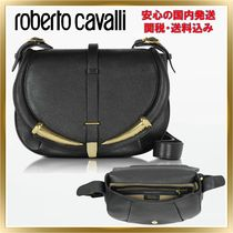 ◇ ROBERTO CAVALLI◇ Kripton Leather Shoulder Bag 関税送料込
