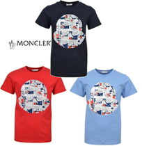 18ss☆MONCLER Jr Cartoon Logo Tシャツ 4~6歳【関税込】