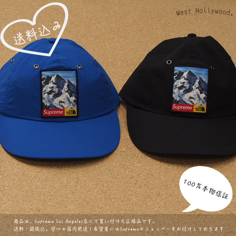 Supreme The North Face Mountain 6-Panel Hat 2017FW