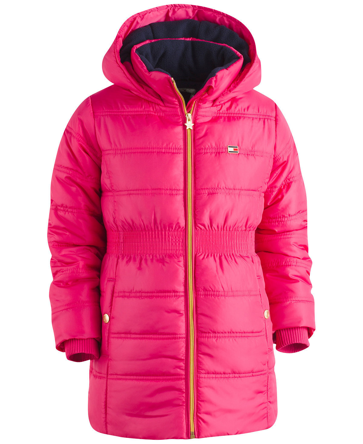 Love it 大人もOK Tommy Hilfiger Hooded Quilted Puffer Coat
