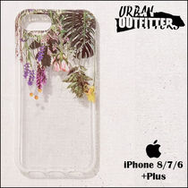 Urban Outfitters(アーバンアウトフィッターズ) スマホケース・テックアクセサリー Urban Outfitters☆ リアルなフラワー柄♪ iPhoneケース 6/7/8用